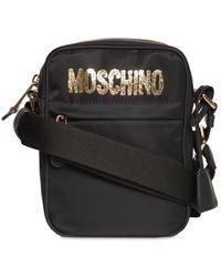 Moschino Gold クロスボディバッグ - ブラック