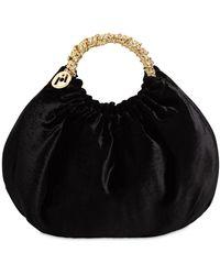 Rosantica Impero Crystal-embellished Bag - Black