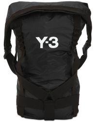 Y-3 Itech テクノバックパック - ブラック