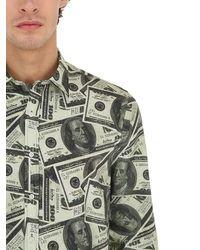MAKE MONEY NOT FRIENDS - コットン ドルプリントシャツ - Lyst