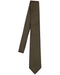 Gucci Галстук Из Шёлка И Шерсти 7cm - Зеленый
