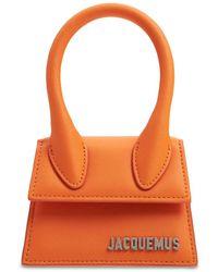 Jacquemus Кожаная Сумка-кроссбоди Le Chiquito - Оранжевый