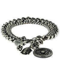 Alexander McQueen Bracelet Avec Breloques - Métallisé