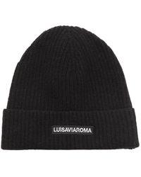 """LUISAVIAROMA - Шерстяная Шапка """"lvr"""" C Логотипом - Lyst"""