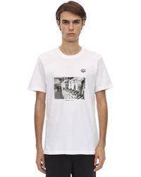 adidas Originals - Photo コットンジャージーtシャツ - Lyst