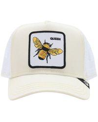 Goorin Bros Queen Bee Trucker Hat W/patch - White