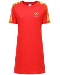 adidas Originals 3-s Spain コットンtシャツウェア - レッド