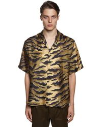 DSquared² - シルクツイルボウリングシャツ - Lyst