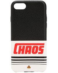 Chaos リフレクティブレザー Iphone 7/8 ケース - ブラック