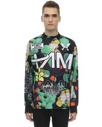P.a.m. Perks And Mini - As Particles Fall Sublimation Ls T-shirt - Lyst