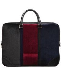 Attimonelli's - Velvet Briefcase - Lyst