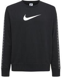 """Nike Sweatshirt Aus Fleece """"repeat"""" - Schwarz"""
