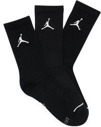 Nike 3 Paires De Chaussettes Jordan Everyday Crew - Noir