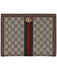 Gucci ブラウン gg スプリーム オフィディア ポートフォリオ