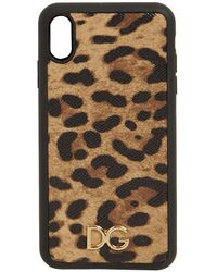 """Dolce & Gabbana Кожаный Чехол Для Телефона """"iphone X Max"""" - Многоцветный"""