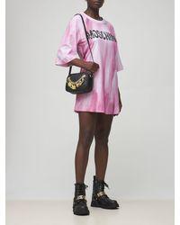 Moschino コットンジャージーtシャツ - ピンク