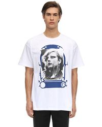 Raf Simons T-Shirt Oversize In Cotone - Bianco