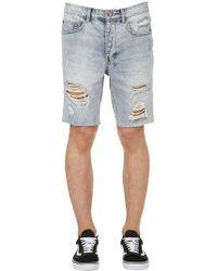 Ksubi - Axel Short Dirty Harry Denim Shorts - Lyst