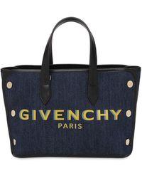 Givenchy Сумка Из Денима - Синий