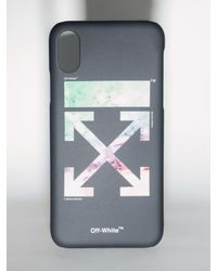 "Off-White c/o Virgil Abloh Cover Iphone X/Xs ""Lvr Exclusive"" In Pvc - Nero"