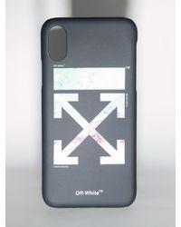 "Off-White c/o Virgil Abloh Iphone X-cover Aus Pvc ""lvr Exclusive"" - Schwarz"