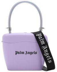 Palm Angels Sac À Main Avec Logo Imprimé - Violet