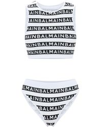 Balmain - ロゴ ビキニ - Lyst