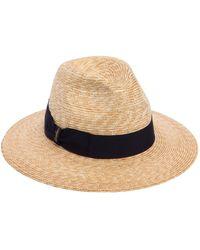 Borsalino - Braided Straw Hat - Lyst