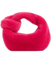 Bottega Veneta Сумка Из Овчины Mini Jodie - Красный