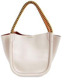 Proenza Schouler Xs Superlux Leather Tote Bag - Multicolour