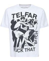 Telfar コットンtシャツ - ホワイト