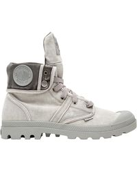 Palladium - Pallabrouse Baggy Washed Canvas Boots - Lyst