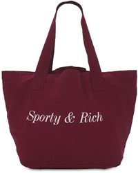 Sporty & Rich Classic トートバッグ - パープル