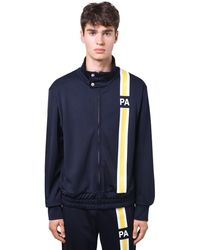 Palm Angels Спортивная Куртка С Монограммой - Черный