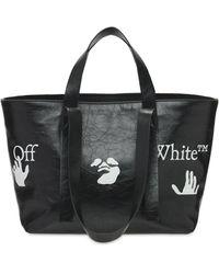 Off-White c/o Virgil Abloh Сумка Commercial Logo 45 - Черный
