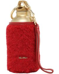 """Max Mara Charm Bouteille """"drinky2"""" - Rouge"""