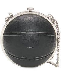 Amiri Basketball レザー&スエードバッグ - ブラック