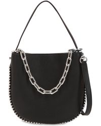 Alexander Wang - Mini Roxy Leather Hobo Bag - Lyst