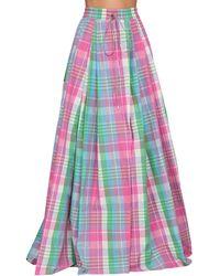 Ralph Lauren Collection Madra コットンポプリンスカート - ピンク