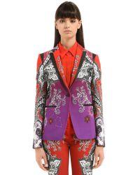 Roberto Cavalli - Gradient Printed Jacket - Lyst