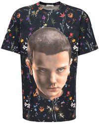 ih nom uh nit Eleven Archive コットンtシャツ - ブラック