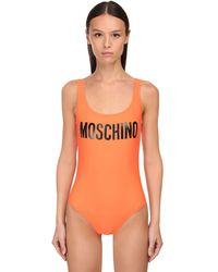 Moschino ワンピース水着 - オレンジ