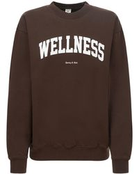 Sporty & Rich Wellness Ivy スウェットシャツ - ブラウン