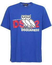 DSquared² Ovo Causule ジャージーtシャツ - ブルー