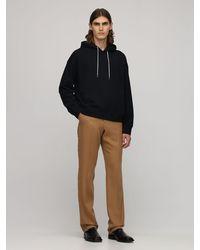 Jil Sander - Plus Embroidered Organic Cotton Hoodie - Lyst