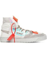 """Off-White c/o Virgil Abloh Sneakers Altas """"Off Court"""" - Blanco"""