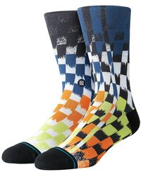 Stance Space Dust Socks - Blue