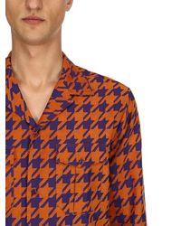Etro - コットン ジャカードパジャマシャツ - Lyst