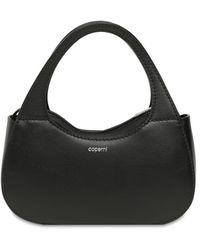 Coperni Micro Baguette レザートップハンドルバッグ - ブラック