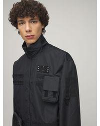 McQ Icon Zero リサイクルビスコースフィールドジャケット - ブラック